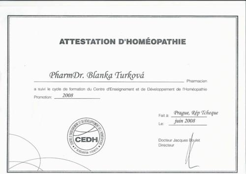 Diplom CEDH